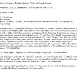 Announcements, 2013-04-17. ...