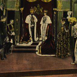 Coronation of King George a...