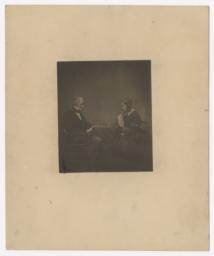 Clement Clarke Moore and Daughter