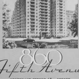 860 Fifth Avenue, First Flo...