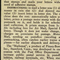 "The     ""Mailomat"""