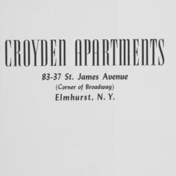 Croyden Apartments, 83-37 S...