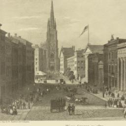 Wall Street in 1850