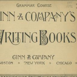 Ginn & Company's writing books