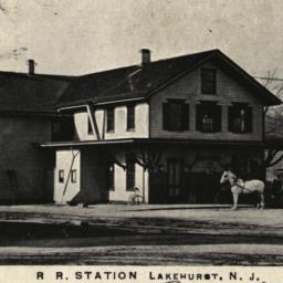 R R. Station Lakehurst, N. J.