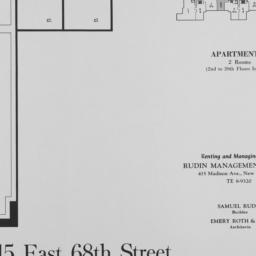 215 E. 68 Street, Apartment G