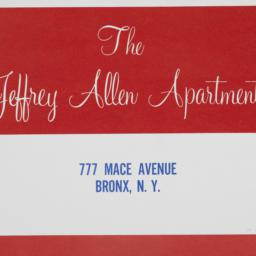 The     Jeffrey Allen Apart...