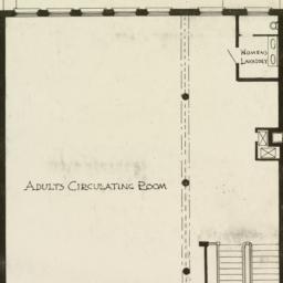 Second floor plan. Public L...