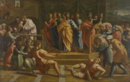 The     Death of Ananias