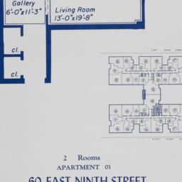 60 E. 9 Street, Apartment 01