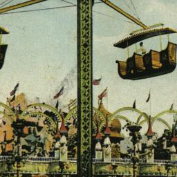 Aerial Swings, Luna Park, C...