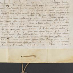 Papal bull, 1310 December 9...