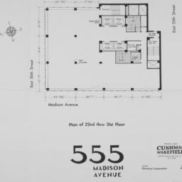 555 Madison Avenue, Plan Of...