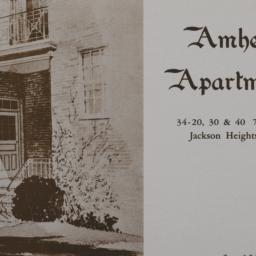 Amherst Apartments, 34-20 7...