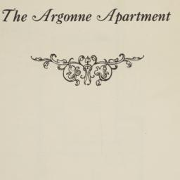 The     Argonne Apartment, ...