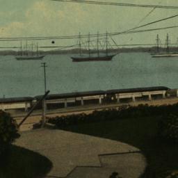 New York Bay from Marine Ho...