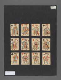 Playing cards from the French Revolution,  Lyon style