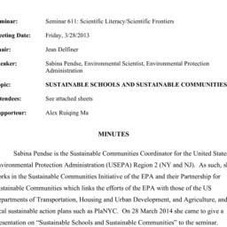 Minutes, 2014-03-28. Scient...