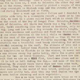 19 November 1945 letter to ...