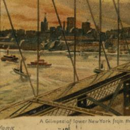 A Glimpse of Lower New York...