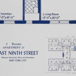 60 E. 9 Street, Apartment 25