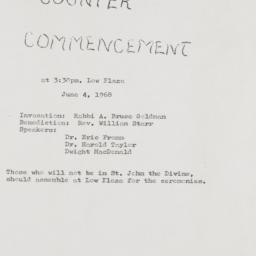 Invitation to counter-comme...