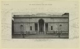 Art gallery for J. Pierpont Morgan, New York. McKim, Mead & White, Architects