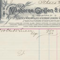Vanhorne, Griffen & Co. bil...