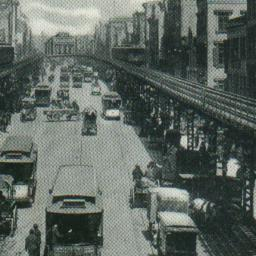 Elevated Road and Bowery, N...
