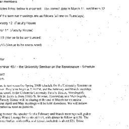 Correspondence, 2008-01-15....