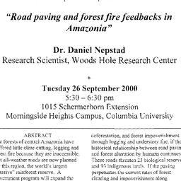 Announcements, 2000-09-26. ...
