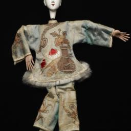 Chinese Female Figurine Wit...