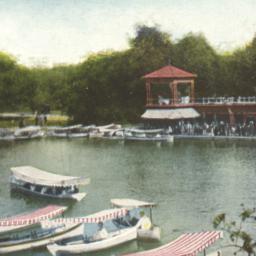 Boathouse, Central Park, Ne...