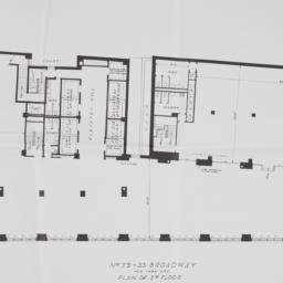 29 Broadway, Plan Of 2nd Floor