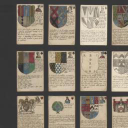 Heraldry playing cards