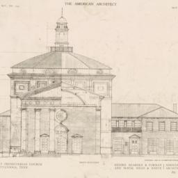 Front elevation. First Pres...
