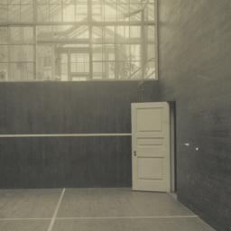 Squash Court, looking East,...