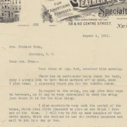H. B. Hardenburg & Co. Letter
