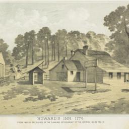 Howard's Inn, 1776 from whi...