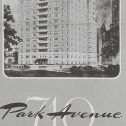 710 Park Avenue, Plan Of 17...