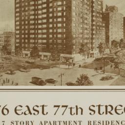 176 E. 77 Street, 176 East ...