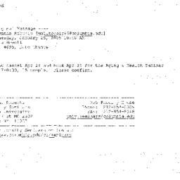 Correspondence, 2005-04-25....
