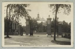 2050. The Merrill Memorial Gates, Abbott Academy, Andover, Mass.