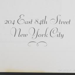 204 East 84th Street