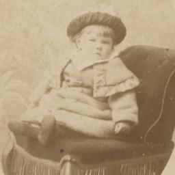 Unidentified Young Boy, Seated
