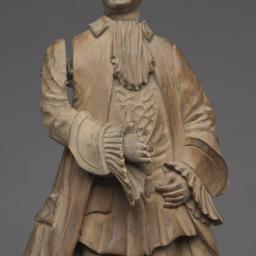 Wood Ledge Puppet Of An Eig...