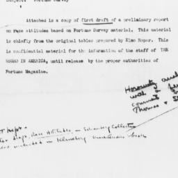 Memorandum to Eugene L. Hor...