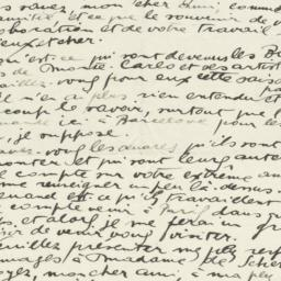 Letter from Joan Miró to Pr...