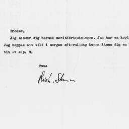 Memorandum from Richard Ste...