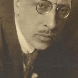 Headshot of Igor Stravinsky